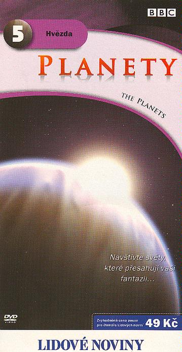 Planety 5 - Hvězda - DVD