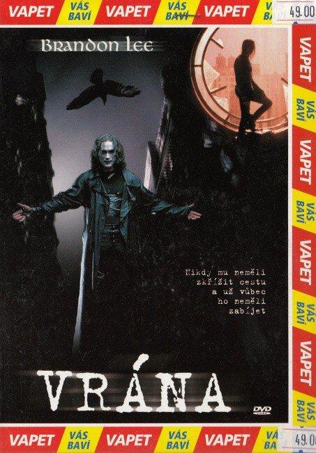 Vrána - DVD
