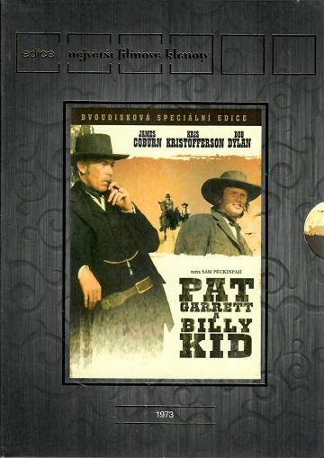 Pat Garrett a Billy Kid 2DVD ( originální znění s CZ titulky ) - plast DVD