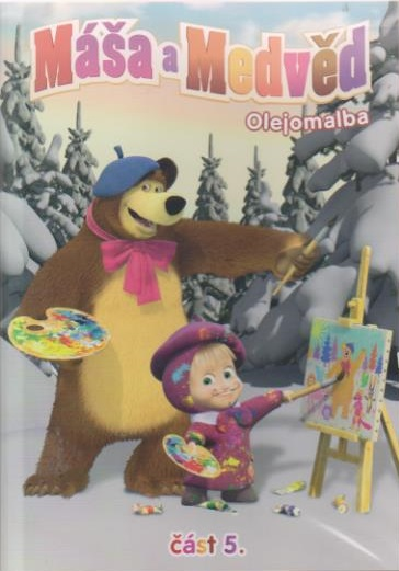 Máša a medvěd 5 - olejomalba - DVD
