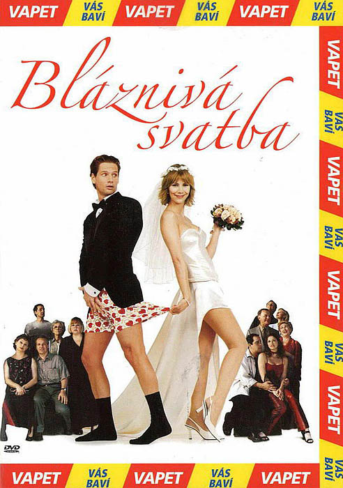 Bláznivá svatba - DVD