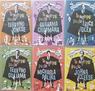 Kolekce Monty Python: To nejlepší podle.. (6DVD) - české titulky - DVD