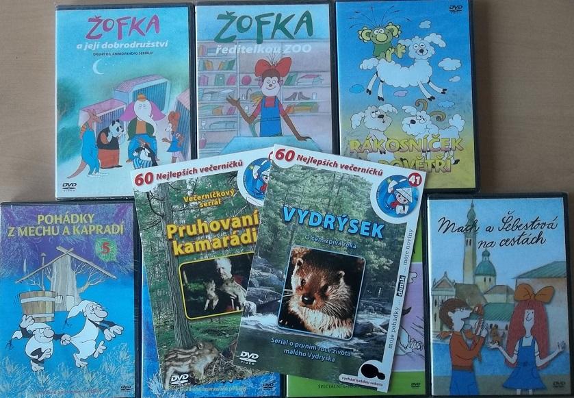 Kolekce Pohádek z večerníčků  ( 10 DVD ) - DVD
