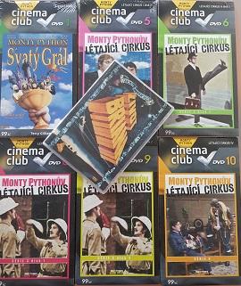 Kolekce Monty Pythonův létající cirkus  7 DVD ( nekompletní )