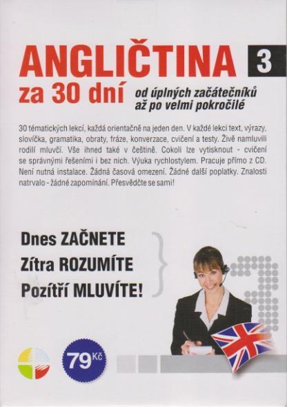 Angličtina za 30 dní 3 - CD