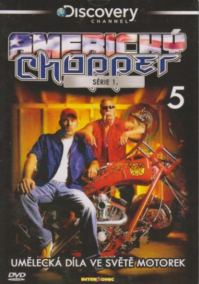 Americký Chopper série 1. díl 5 - DVD