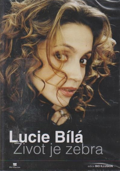 Lucie Bílá - Život je zebra - DVD