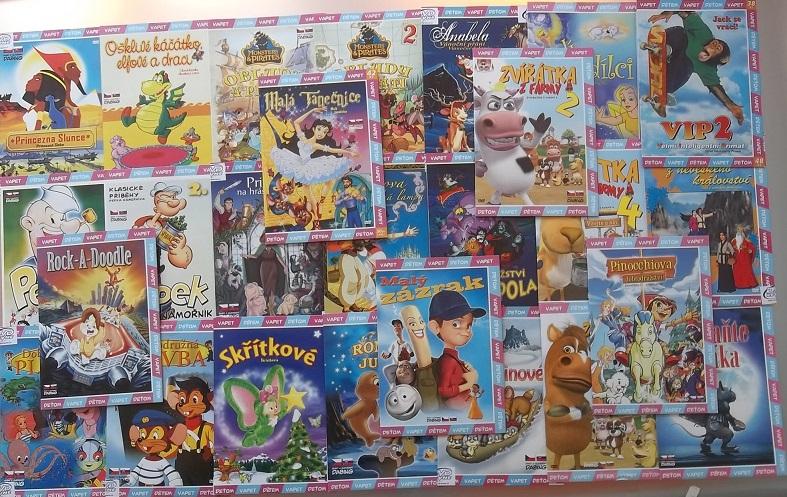 Velká kolekce animovaných pohádek 26 DVD