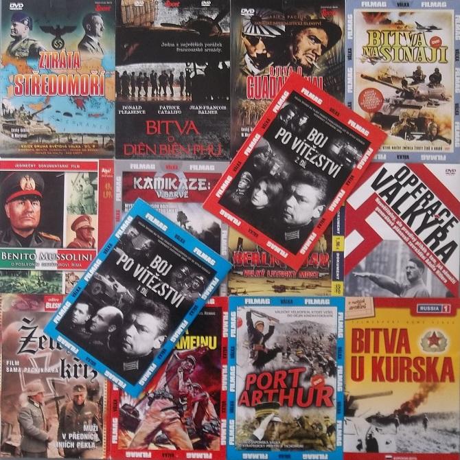 Kolekce Válečné filmy - 14DVD