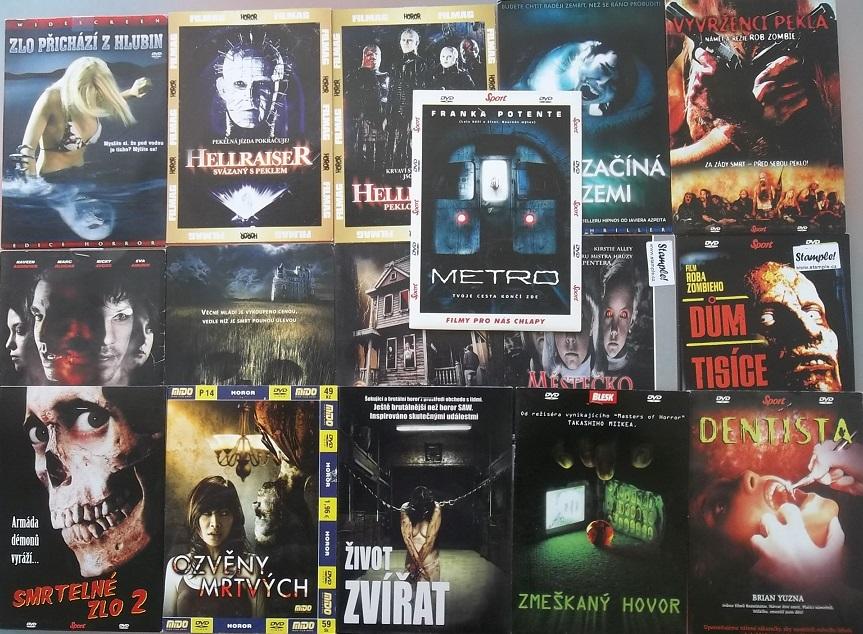 Kolekce horory 1. - 17 DVD