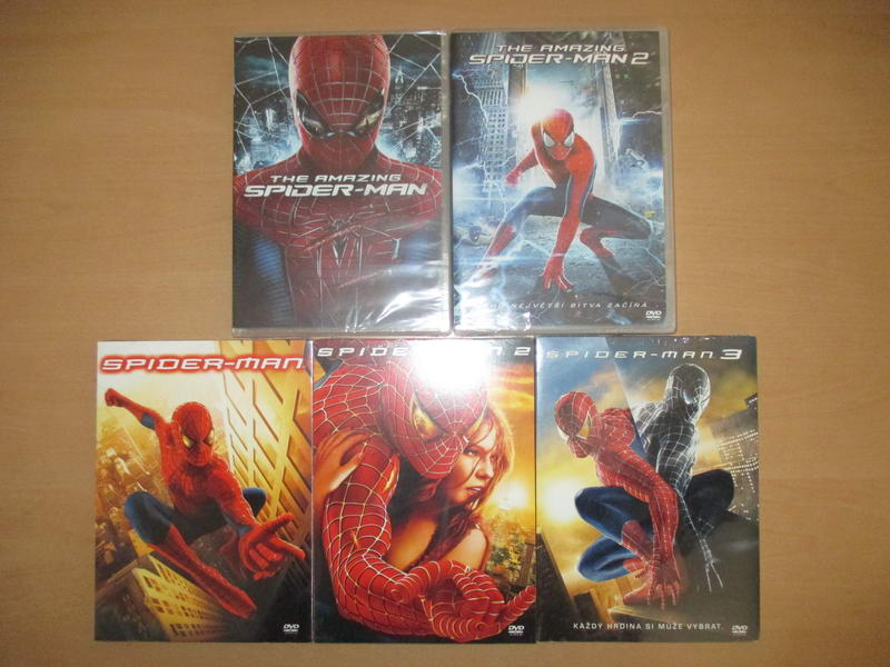 Spider-man - 5DVD
