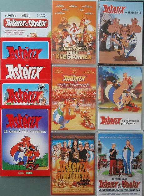 Velká kolekce Asterix a Obelix - 11 DVD