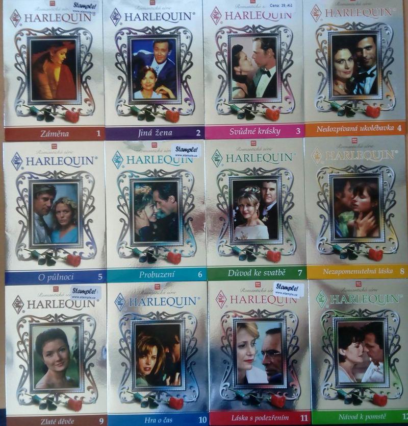 Kolekce Harlequin - 9 DVD