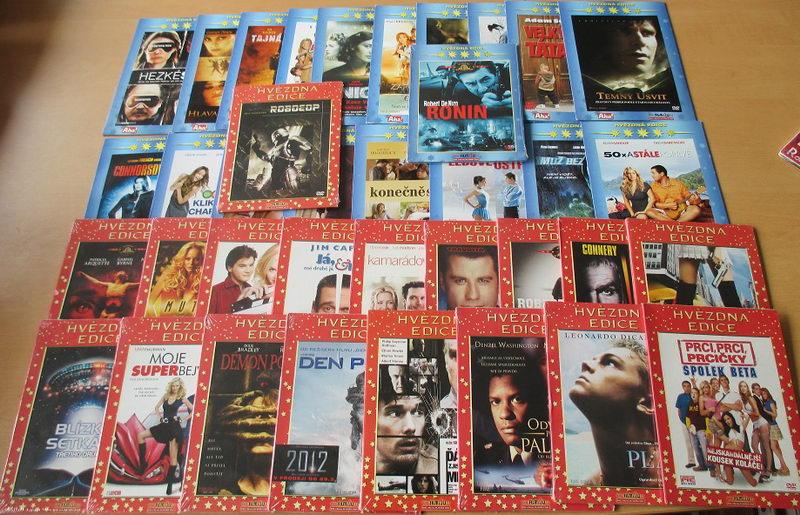 Hvězdná Edice - 38 DVD