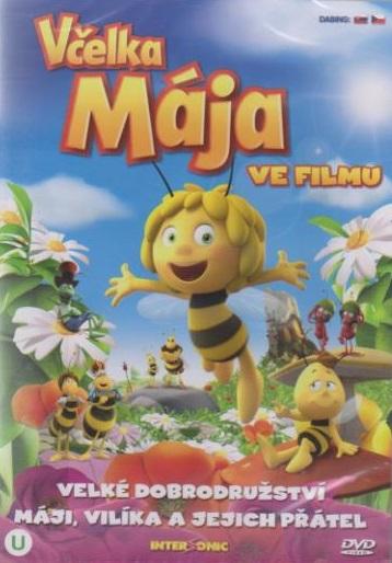 Včelka Mája ve filmu ( plast ) DVD