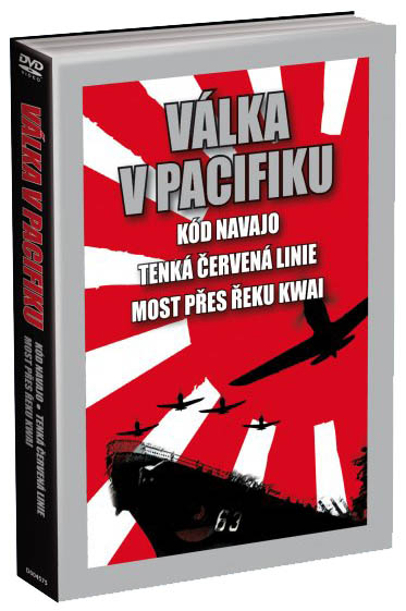 3 DVD Kód Navajo / Most přes řeku Kwai / Tenká červená linie (Windtalkers / BridgeRiverKwai / ThinRed)