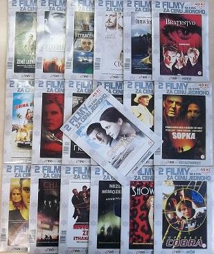 Kolekce 2 filmy za cenu jednoho - 38 DVD