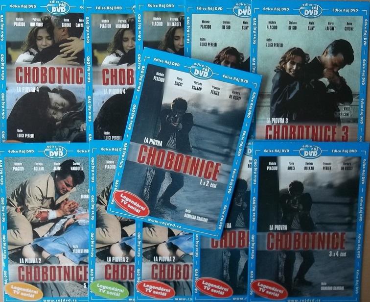 Kolekce Chobotnice - 11 DVD ( Nekompletní kolekce ) - DVD