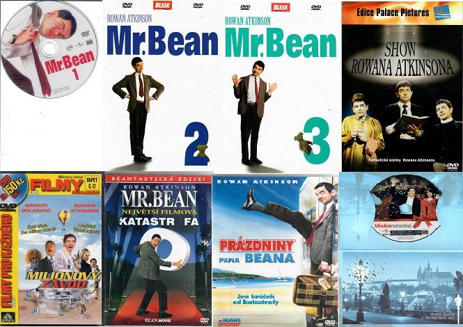 Kolekce Mr Bean - Rowan Atkinson - 8 DVD