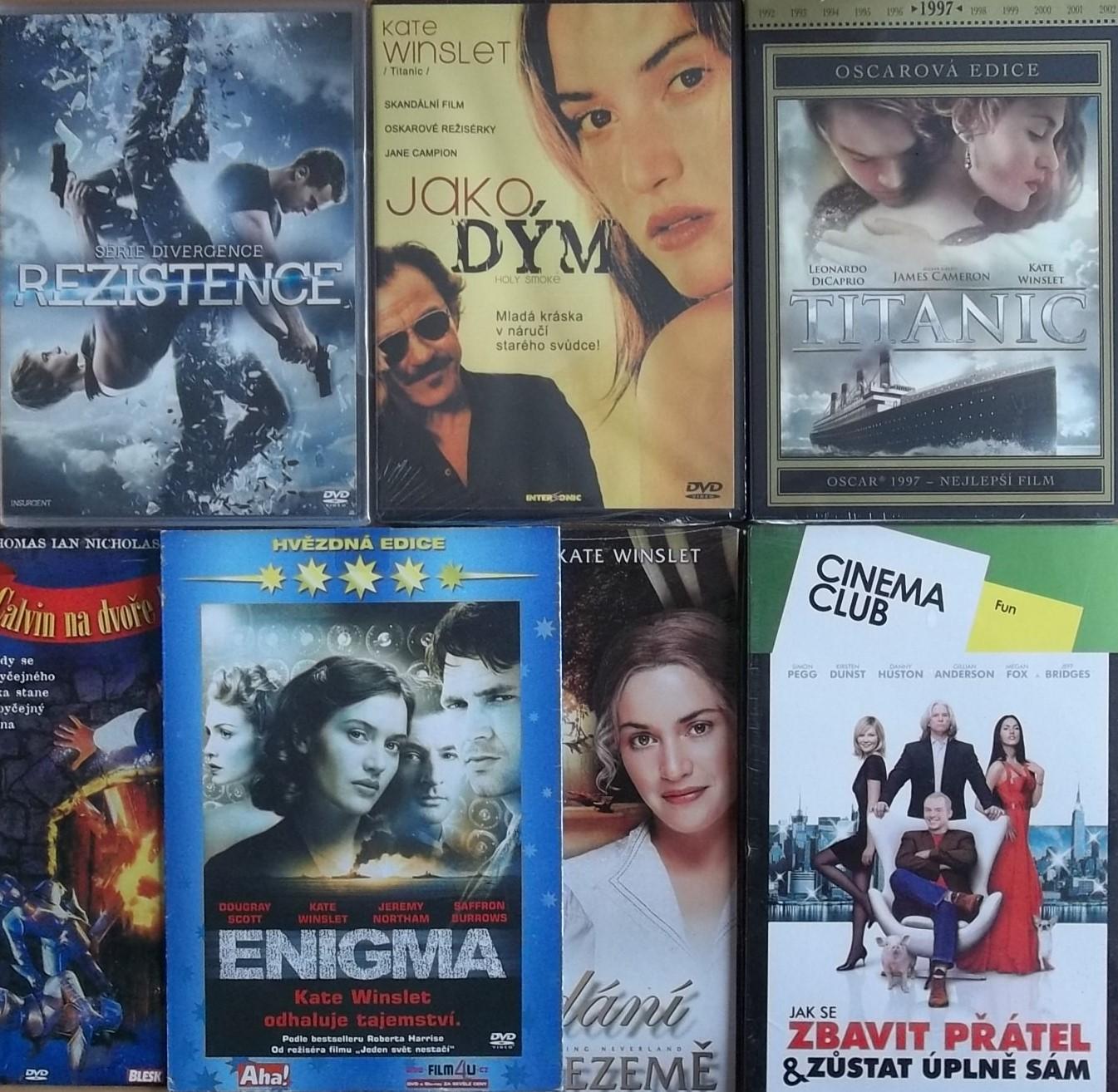 Kolekce Kate Winslet - 7 DVD