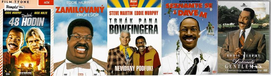 Kolekce Eddie Murphy - 5 DVD