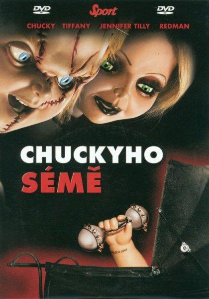 Chuckyho sémě - DVD pošetka