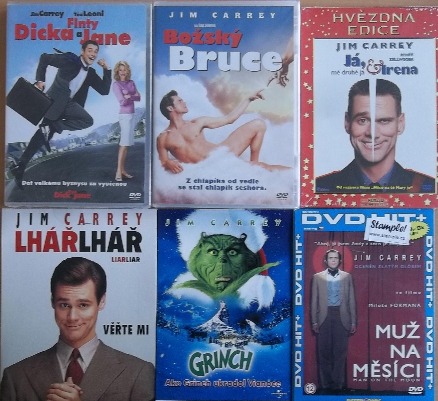 Kolekce Jim Carrey 6DVD