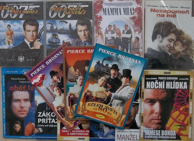 Kolekce Pierce Brosnan - 13 DVD
