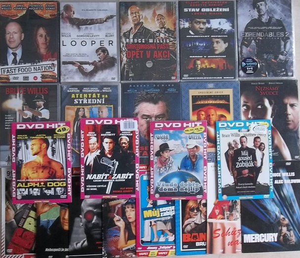 Velká kolekce Bruce Willis - 23 DVD