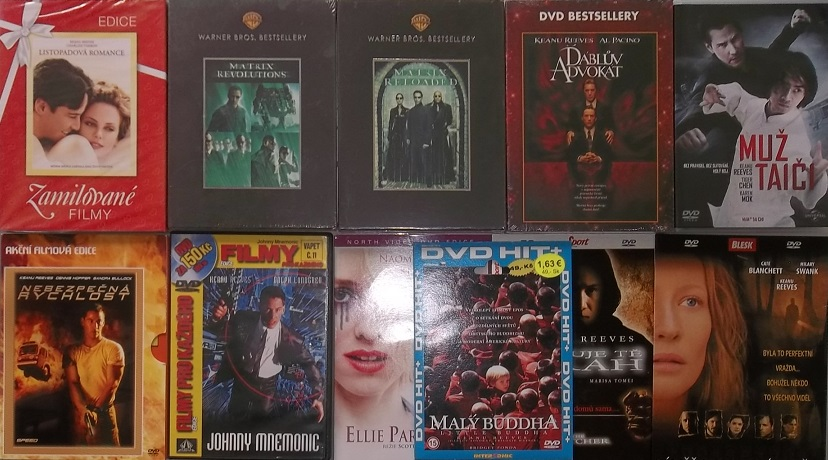 Kolekce Keanu Reeves - 11 DVD