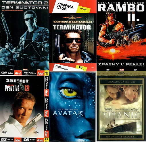 Kolekce James Cameron - 6 DVD