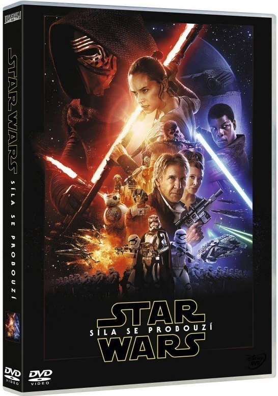 Star Wars: Síla se probouzí DVD