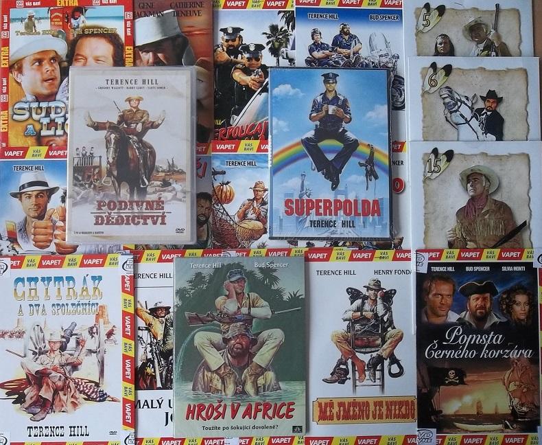 Kolekce Terence Hill - 20 DVD