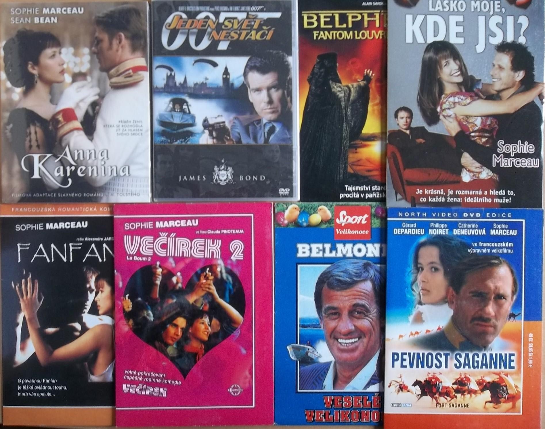 Kolekce Sophie Marceau - 8 DVD