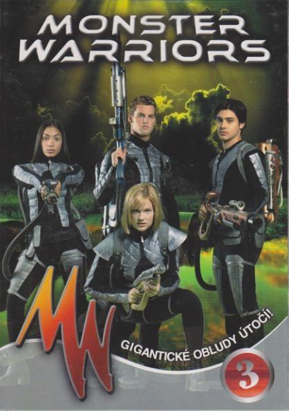 Monster Warriors DVD 3
