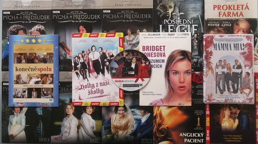 Kolekce Colin Firth - 15 DVD