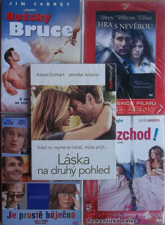 Kolekce Jennifer Aniston - 5 DVD