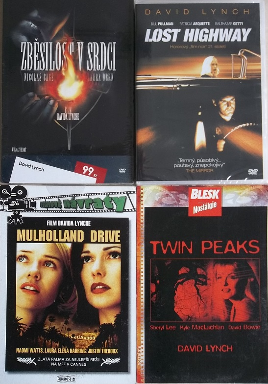 Kolekce David Lynch - 4 DVD