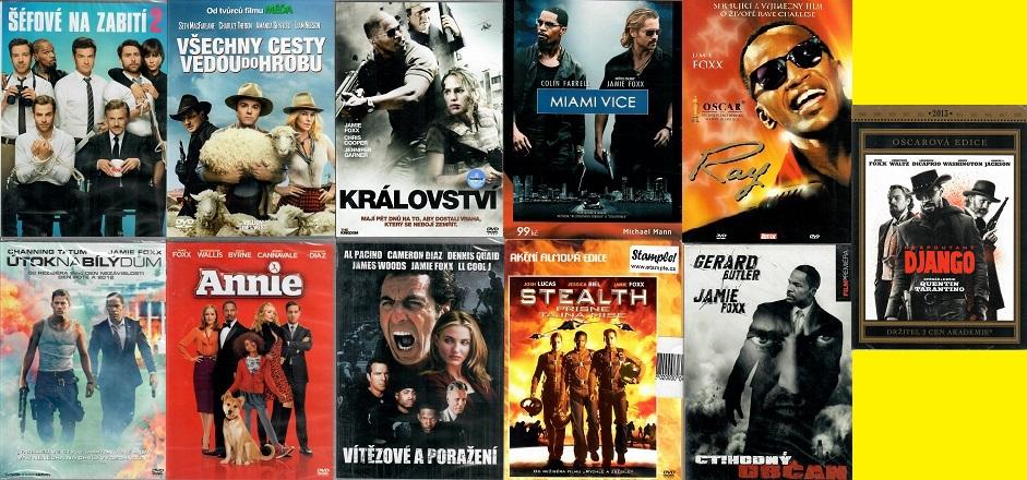 Kolekce Jamie Foxx - 11 DVD