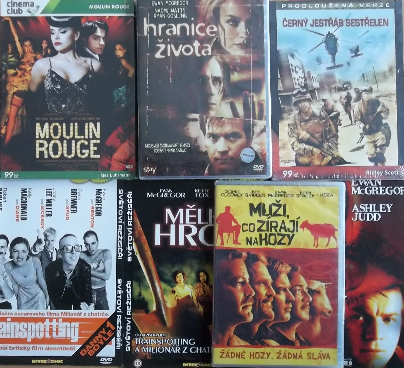 Kolekce Ewan Mcgregor - 7 DVD