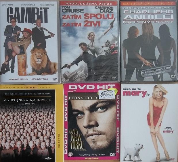 Kolekce Cameron Diaz -  6 DVD