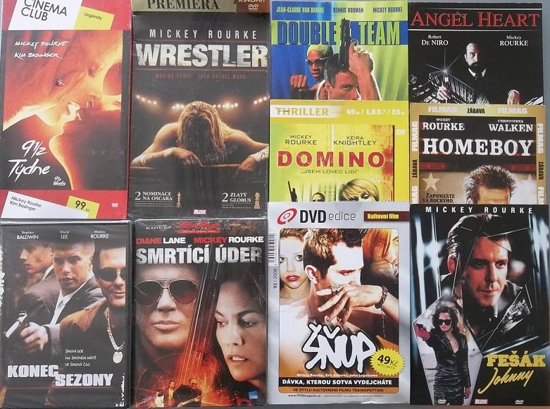 Kolekce Mickey Rourke - 10 DVD