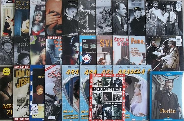 Kolekce Jiří Sovák - 36 DVD