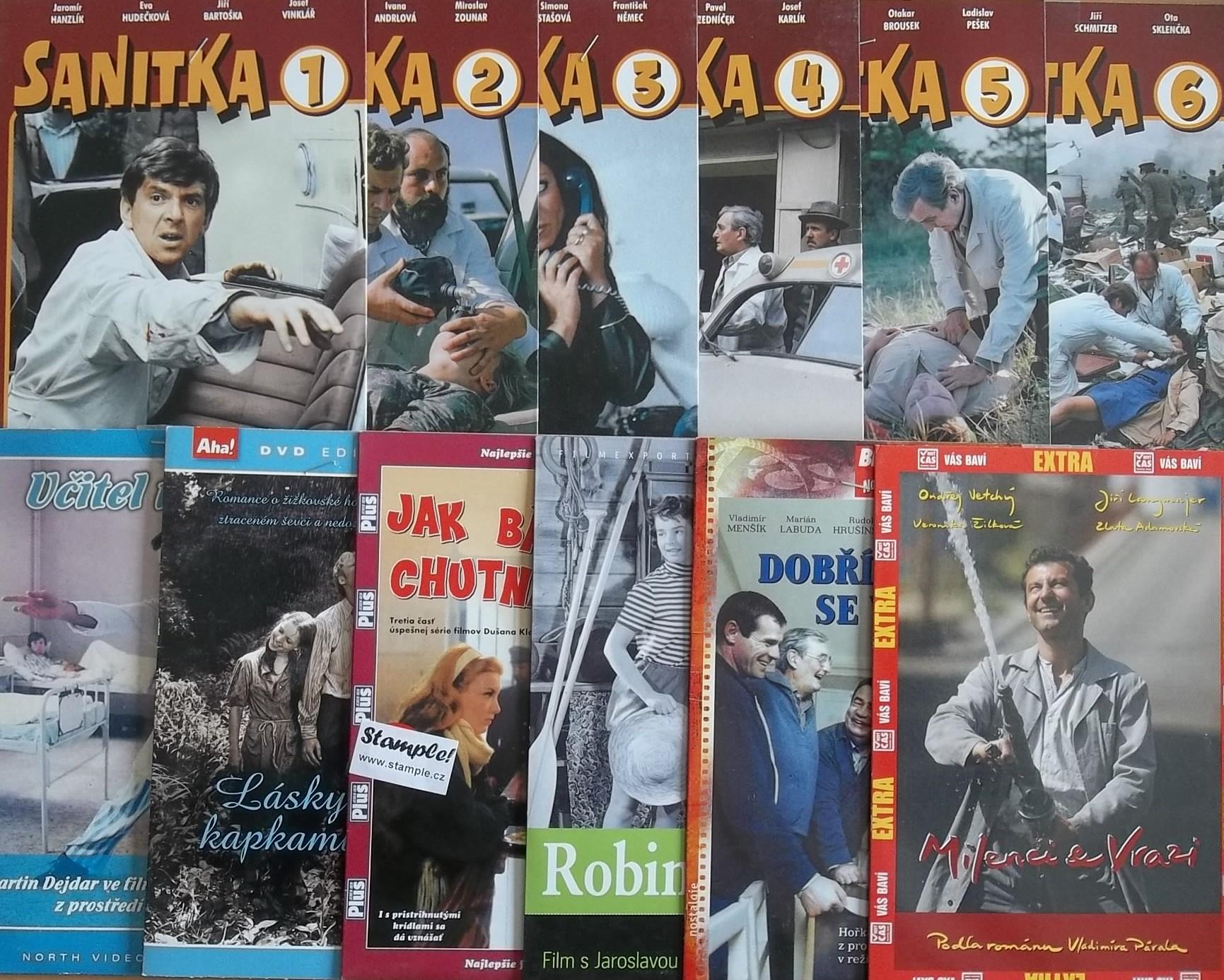 Kolekce Zlata Adamovská - 12 DVD