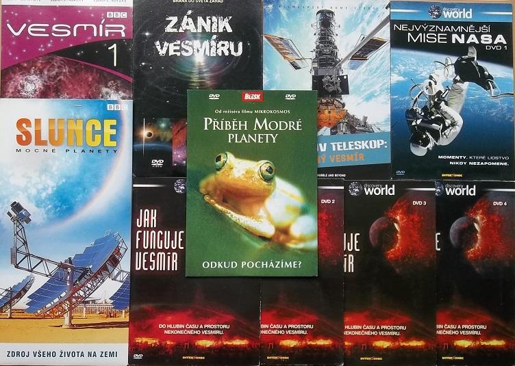 Kolekce Jak funguje vesmír - 10 DVD