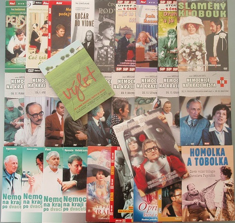 Kolekce Iva Janžurová - 29 DVD