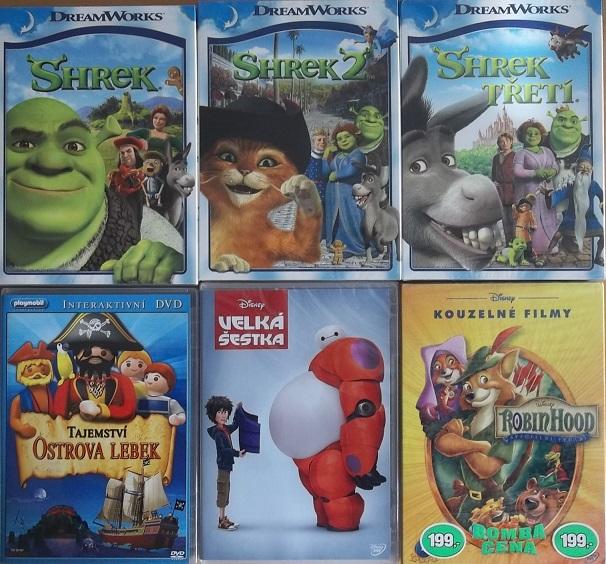 Kolekce Kouzelné animované filmy - 6 DVD