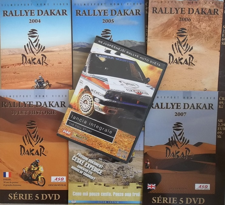Kolekce Rallye - 7 DVD