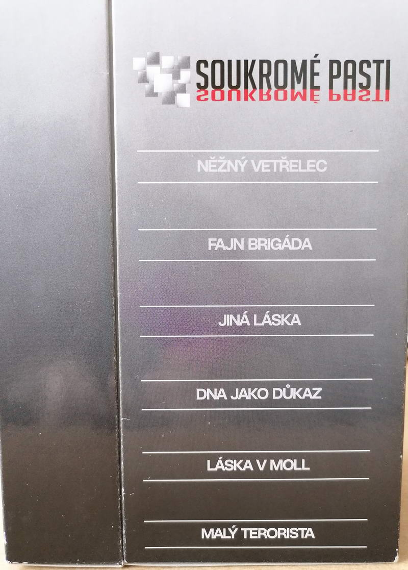 Kolekce Soukromé pasti - 11 DVD slim v papírovém přebalu - bazarové zboží