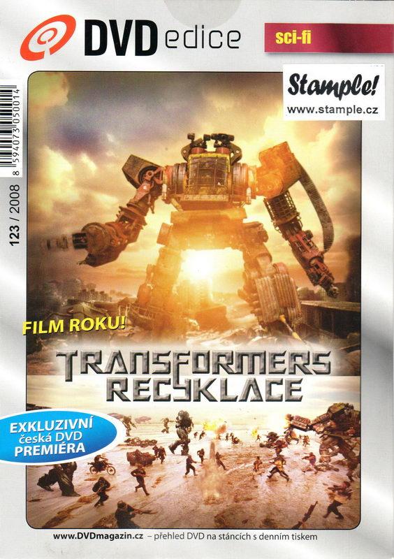 Transformers - Recyklace - DVD